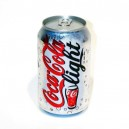 Bote CocaCola light 33cl.
