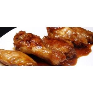 Alitas de pollo a la barbacoa 6 unid. (3 alas)