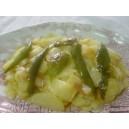 Patatas al montón y Pimientos (ración)