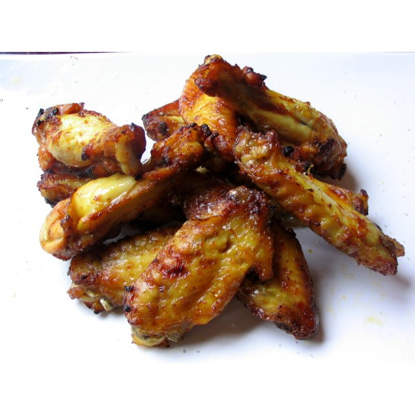 tapas de alas de pollo